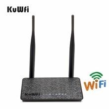 KuWfi 802.11n 300Mbps sans fil routeur Wifi Extender avec antenne 2/5dBi améliorer le Signal Wifi sans fil AP routeur Wifi Amplifie