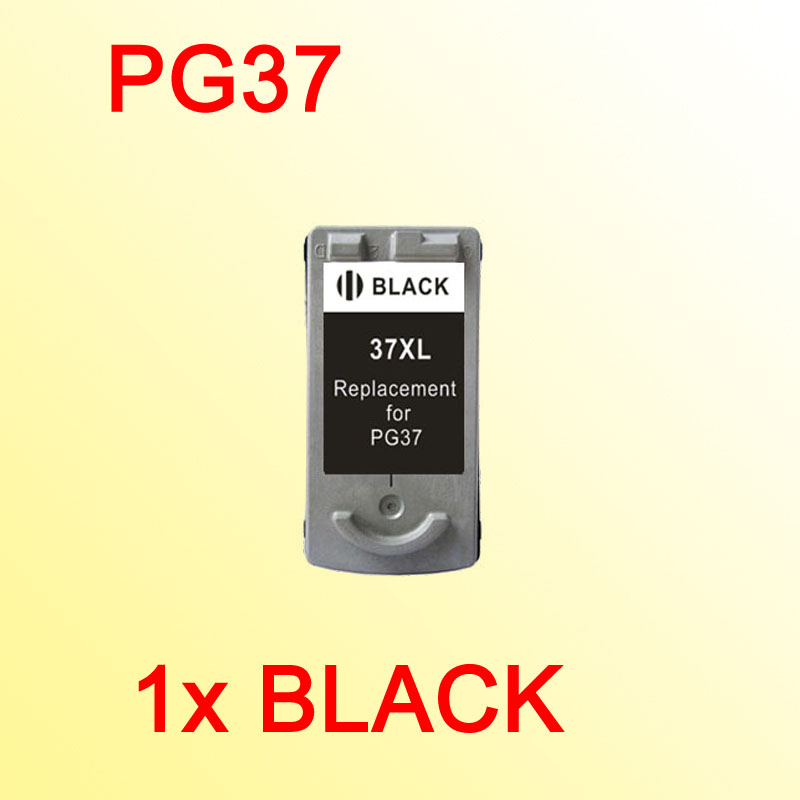 PG37 Ink Cartridge COMPATIBLE for <font><b>Canon</b></font> <font><b>PG</b></font> <font><b>37</b></font> <font><b>PG</b></font>-<font><b>37</b></font> MP210 MP220 MX300 MX310 IP1800 IP1900 image