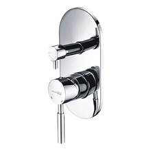 Смеситель для ванны WasserKRAFT Main 4141 (Керамический картридж, керамический поворотный переключатель, латунь, хромоникелевое покрытие)