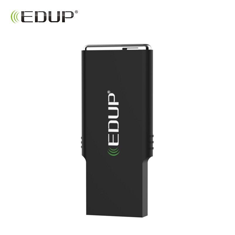 EDUP mini 2.4/5 ghz Sans Fil usb wifi adaptateur 600 mbps 802.11ac wifi récepteur Double Bande Carte Réseau dongle pour Ordinateur PC