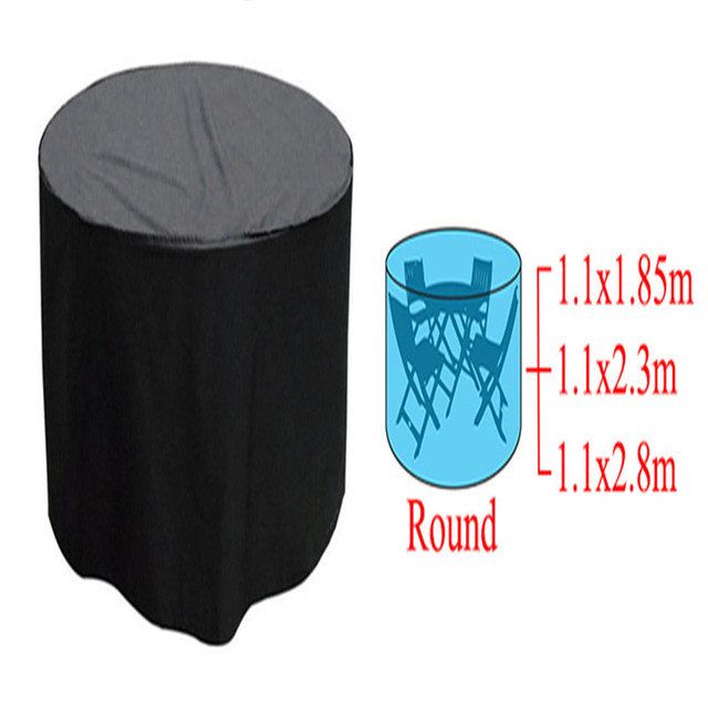 high quality and durable woven polyethylene round outdoor furniture rh aliexpress com outdoor round table covers with elastic extra large round outdoor furniture covers