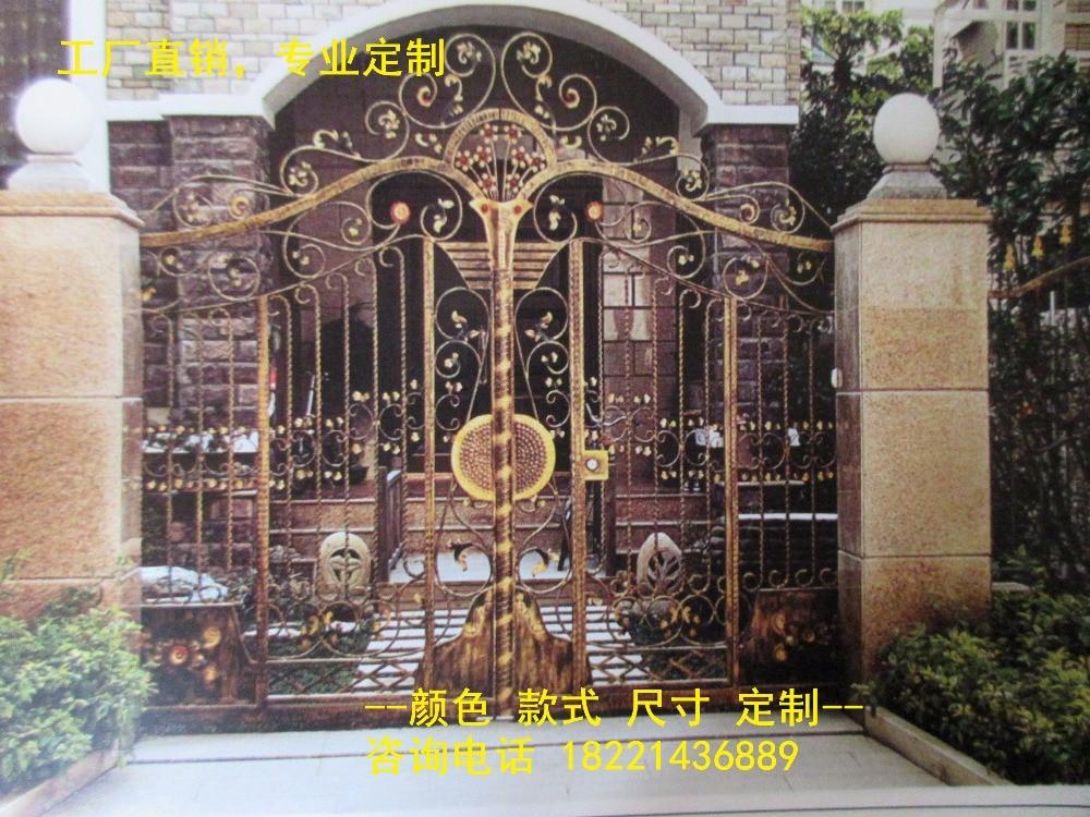 Hench 100% Hot Dip Galvanized Steel Iron Gates  Model Hc-ig18