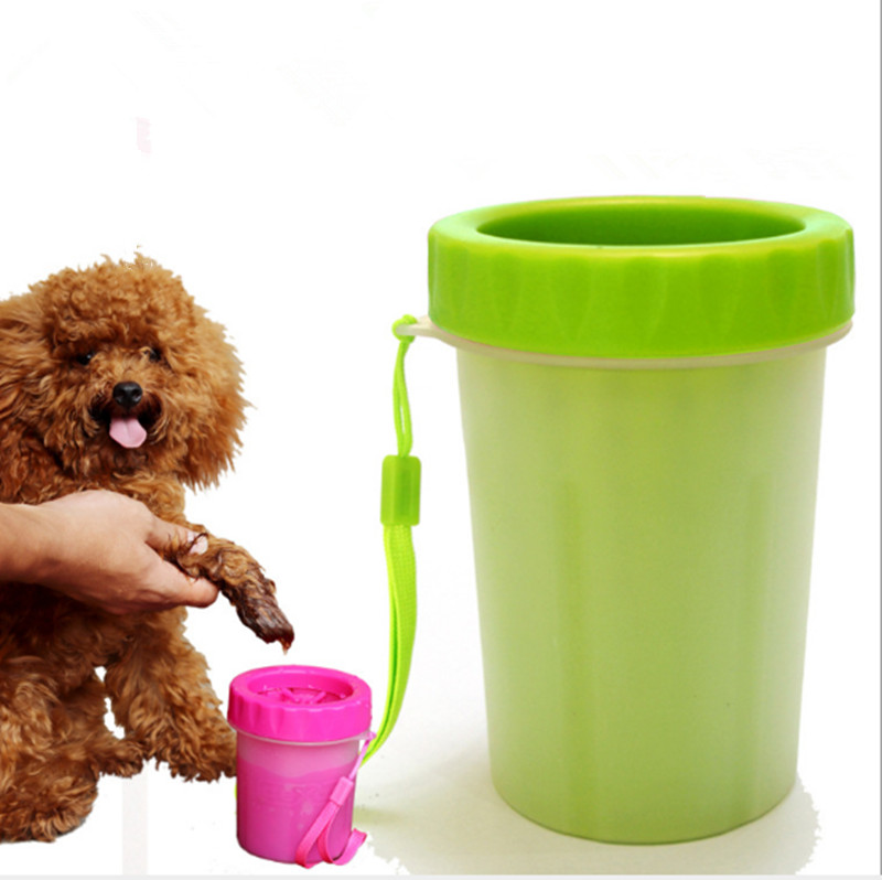 Silicone Brush Pet Foot Washer Cup Quickly Defeats Dirty Muddy Feet Washing Tools Pet Foot Cleaning Cup 171111-15