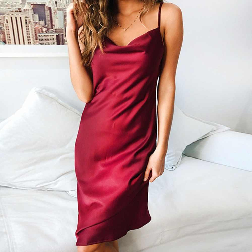 d3887123c7 Detail Feedback Questions about COLROVIE Burgundy Satin Party Club ...