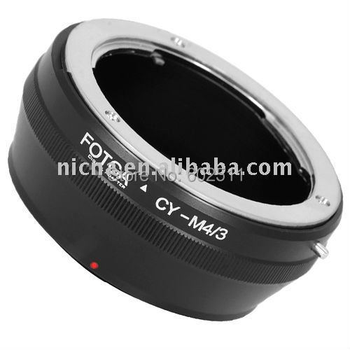 FOTGA Lens Adapter Ring For Contax/Yashica CY Lens to Micro 4/3 m4/3 Adapter for E-P1 G1 GF1 brass wholesale oem