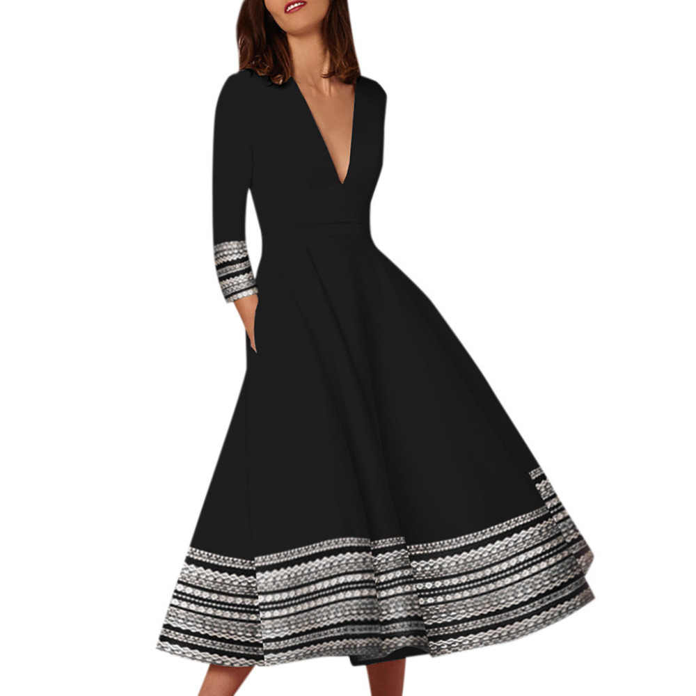 2019 summer dresses woman party night vintage long dress for women Ladies evening black Dress sexy Elegant vestidos dress