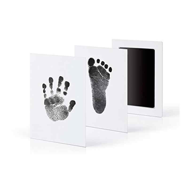 Baby Care ทารกปลอดสารพิษ Handprint รอยเท้าพิมพ์ชุดเด็กของที่ระลึกหล่อทารกแรกเกิด Footprint Pad ทารก Clay Toy ของขวัญ