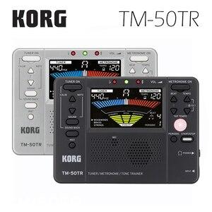 Image 2 - Korg TM50TR TM 50TR accordeur dinstruments universel/entraîneur métronome/entraîneur de tonalité métronome périodique avec écran LCD couleur pour Vionlin, saxo