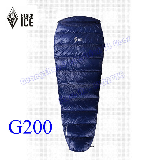 Black Ice G 200 Professional White Goose Down summer ...