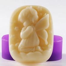 1 шт. одна девочка(xj5362) Силиконовые мыло ручной работы/форма для торта ремесла DIY Плесень