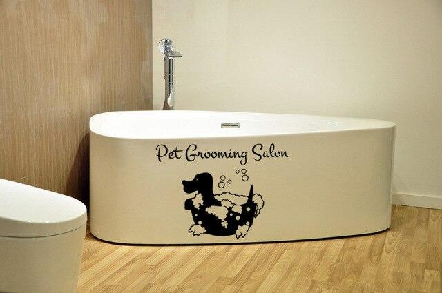 De badkamer met achtergrond decoratieve schilderen milieu PVC ...