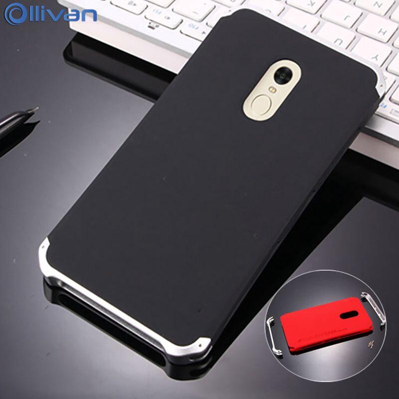 Ollivan case for xiaomi redmi note 4x case Aluminum Metal frame Hard PC back cover redmi note 4 pro prime case note4x 4 x fundas