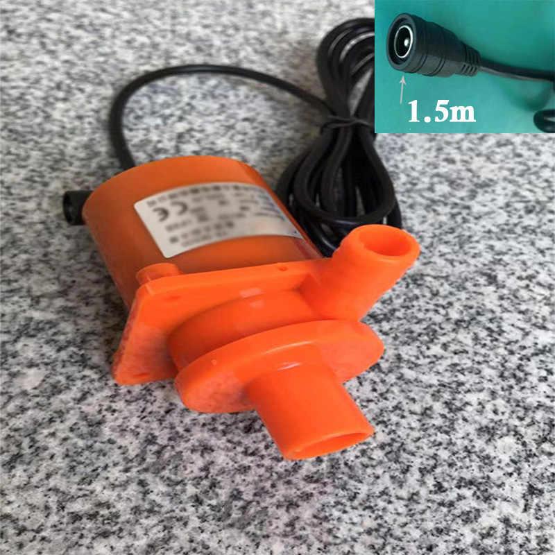 Bomba de circulación de agua sin escobillas 12V 18W CC para Eberspacher flujo Webasto Max 800L/H 125 °C elevador 5m bomba de chorro bomba acuario