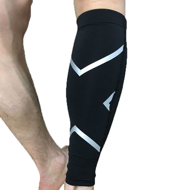 1 Pair Basketball Football Leg Shin Guards Soccer Protective Calf Sleeves  Cycling Fitness calcetines Compresion Running 8455e8d80