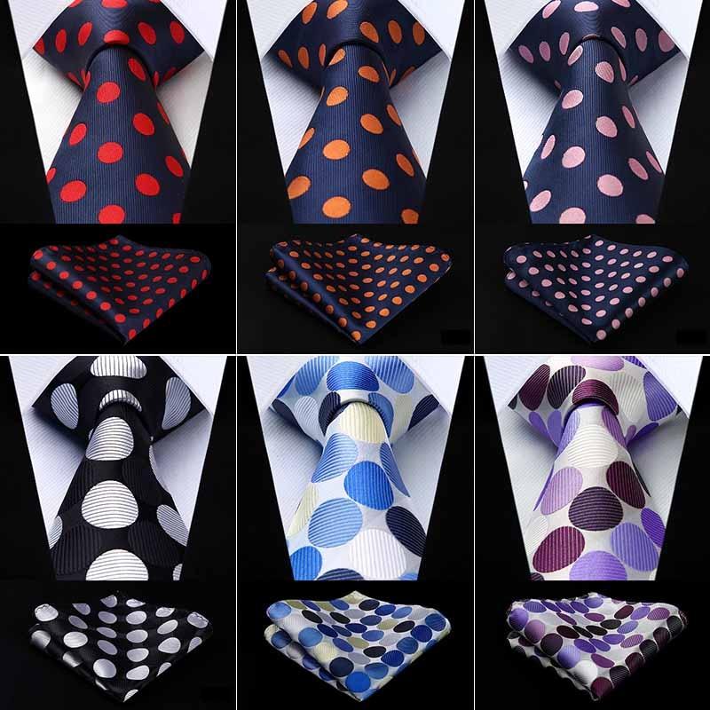 Luxury Arabic Dark Amber Pattern Necktie /& Pocket Square Set