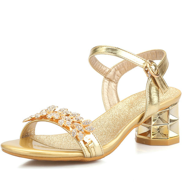 Big Size 34 43 Shoes font b Women b font Sandals Luxury Bridal Shoes Summer Open
