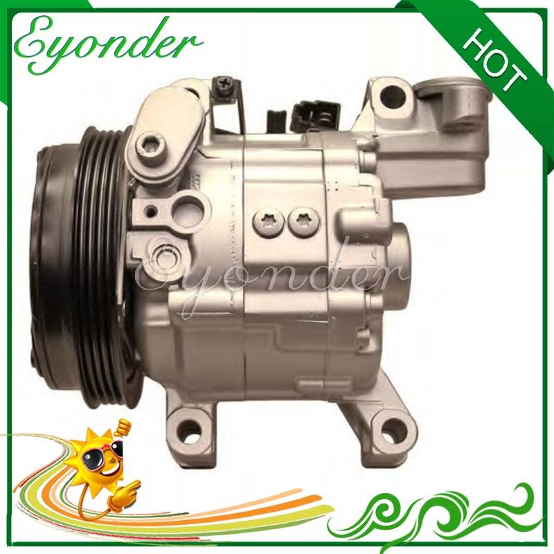 ZEXEL DKV11G AC Air Conditioning Compressor Cooling Pump for SUBARU IMPREZA GC GFC GF 2.0 2.0i 73111FA150 73111FA140 73111FA151 520w cooling capacity fridge compressor r134a suitable for supermaket cooling equipment