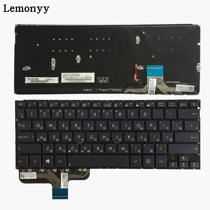 все цены на New Russian laptop Keyboard FOR Asus ZenBook UX301 UX301LA UX301LA-DH71T RU keyboard with backlit онлайн