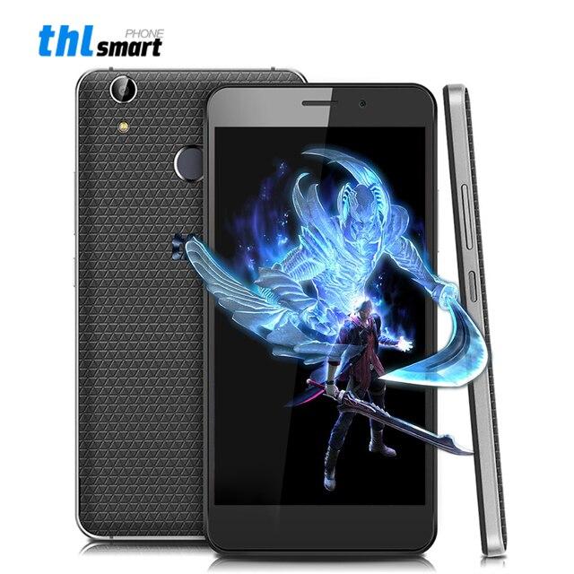 Оригинал THL T9 Плюс Android 6.0 5.5 дюймов 4 Г Мобильный телефон MTK6737 Quad Core 2 Г RAM 16 Г ROM 3000 мАч 16MP Отпечатков Пальцев ID Смартфон