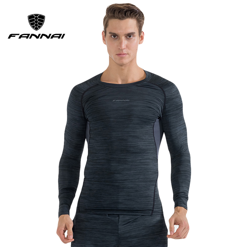 FANNAI Lengthy Sleeve Sport Shirt Males Fast Dry Males's Operating T-shirts Fitness center Clothes Health Compression High Mens Rashgard Jersey Operating T-Shirts, Low cost Operating T-Shirts, FANNAI Lengthy Sleeve...