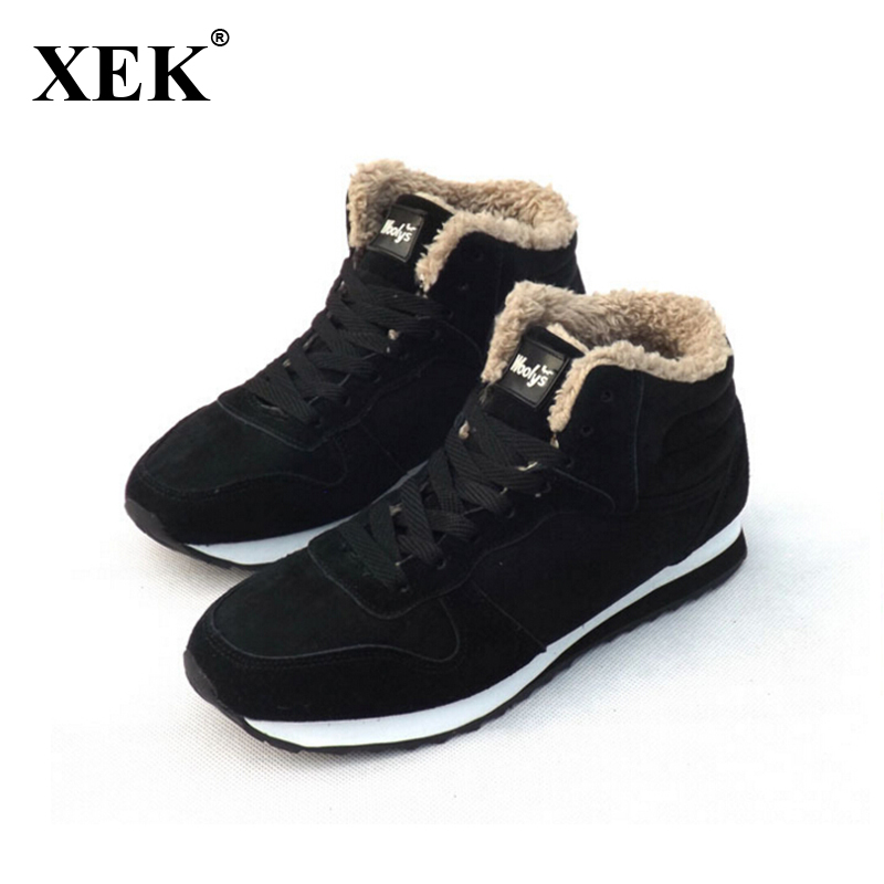 New Fashion Men Snow Boots Plush Super Warm Boots Men boots Work Shoes real suede leather
