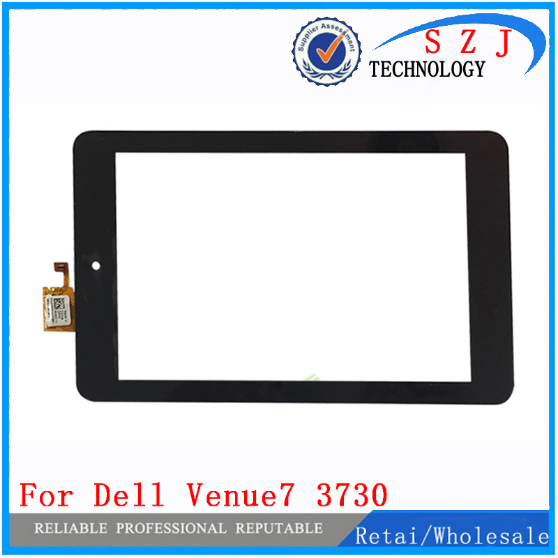 New case Touch Screen For Dell Venue7 3730 T01C TTDR070014 FPC-V1.0 Touch Panel digitizer Glass for Tablet PC Free shipping new 10 1 inch case for asus memo pad 10 me102 me102a v3 0 mcf 101 0990 01 fpc v3 0 touch panel screen digitizer free shipping