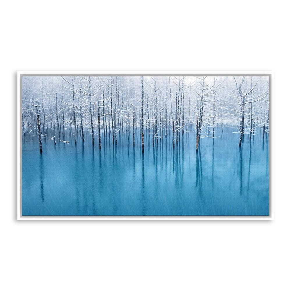Popular winter snow paintings buy cheap winter snow for Buy modern art prints