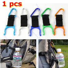 New Carabiner Water Bottle Buckle Hook Holder Clip For Camping Hiking Traveling mounchain camping drawstring water bottle pouch high capacity insulated cooler bag for traveling camping hiking