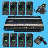 Inbio460 fingeprint и rfid карты доступа к панели управления четыре двери Система доступа доступ + FR1200 сканер отпечатков пальцев + USB FP reader