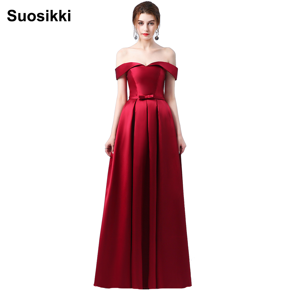0d0ec1690e3 Suosikki 2016 New Arrival Evening Dresses Long Formal Party Dress Prom Gown  satin dresses vestidos de