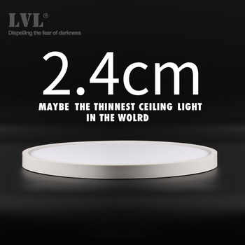 Modern LED Ceiling Light 12W 18W 24W 32W 220V 5000K Kitchen Bedroom Bathroom Lamps Ultrathin Ceiling Lamp - DISCOUNT ITEM  44% OFF All Category
