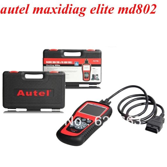 100% original Autel MD802 maxidiag elite md802 code reader four system