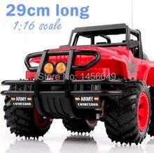 1:16 RC автомобилей Drift супер большой Дистанционное управление автомобиля внедорожник Jeep автомобиль 1/16 Радио Управление автомобиль ребенок Высокая моделирования игрушка