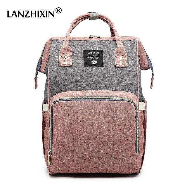 กระเป๋าเป้สะพายหลังหญิงกระเป๋าผ้าอ้อมผ้าอ้อมเด็ก Care Travel กระเป๋าเป้สะพายหลัง Designer กันน้ำกลางแจ้งสตรีมีครรภ์