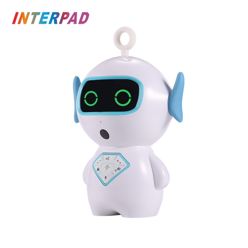 Interpad AI Voice Interaction Smart Robot Intelligent Children Early Education Robots Toy Support Voice Chat Music Story(China)