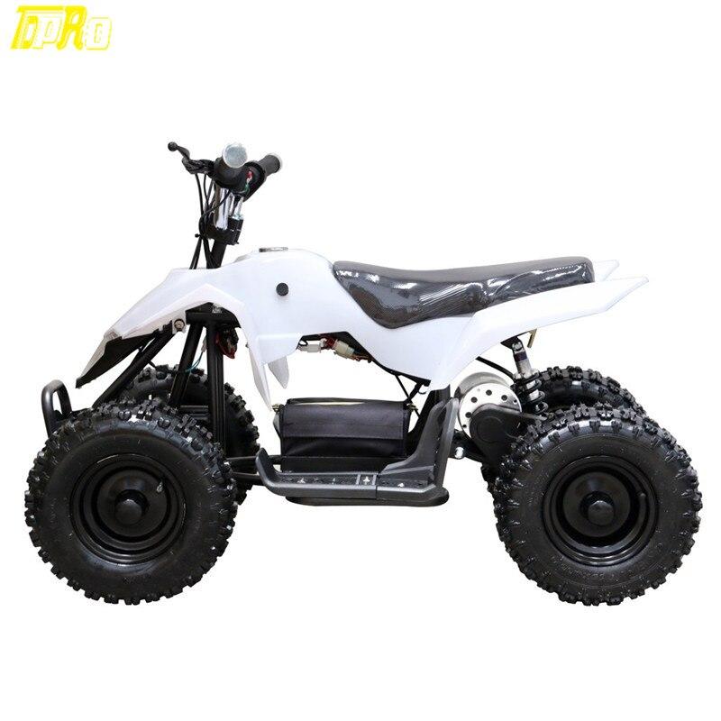 TDPRO 500 w 24 v ATV Mini Moto Électrique Batterie Aller kart Quads Pitbike Sports de Plein Air Enfants Garçons Tour Sur sécurité