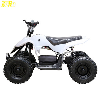 TDPRO 500W 24V ATV Mini Moto Electric Battery Go kart Quads Pitbike Outdoor Sports Kids Boys Ride On Safety