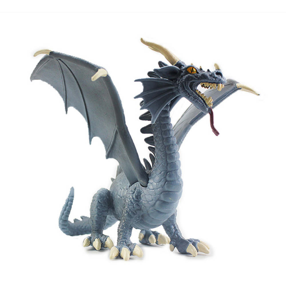 New 1pc Western Plastic Pterosaur Dragon Dinosaur Model Toy
