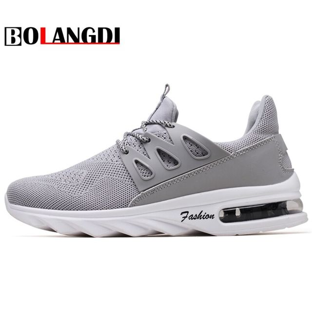 e94fbba567434a BOLANGDI 2018 Spring New Air cushioning Men Sneakers Male Running Shoes  Trainers Lace-up Outdoor Athletic Sport Shoe Comfortable
