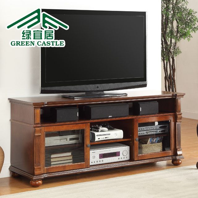 Green Livable Continental Simple Tv Cabinet Modern Minimalist Bedroom Combination Small Wood Coffee
