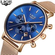 Image of 2019 LIGE Ultra thin Fashion Male Wristwatch Top Brand Luxury Business Watches Waterproof Scratch-resistant Men Watch Clock