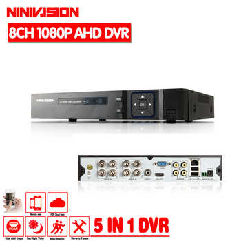 Hot 8CH AHD DVR 1080P 1080N AHD-N H CCTV Recorder Camera Onvif Network 8 Channel IP NVR 1080P 4CH Audio Input Multi-language - DISCOUNT ITEM  37% OFF All Category