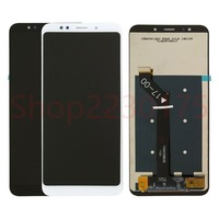 For Xiaomi Redmi 5 Plus LCD Display Touch Screen Digitizer Assembly Frame Replacement Parts