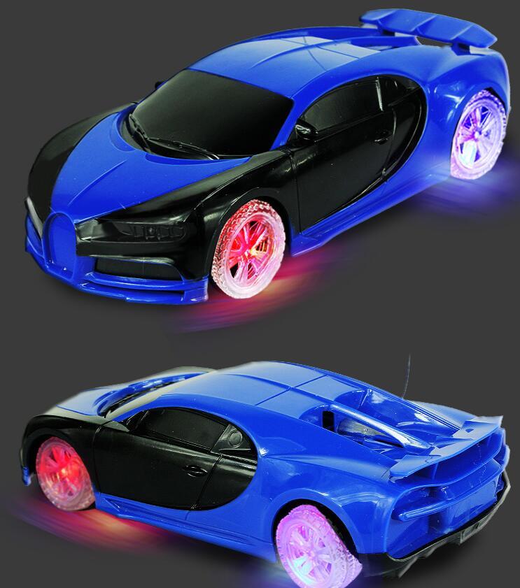 Перезаряжаемые дистанционного управления автомобиля четыре колеса фонарь racing модель мальчик электрической игрушечную машинку Drift детей дистанционного управления автомобилем