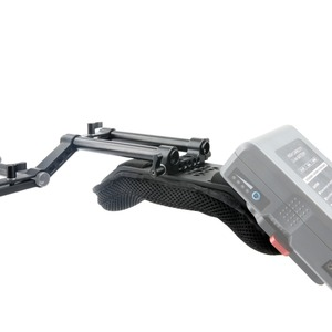 Image 5 - NICEYRIG lustrzanka cyfrowa kamera dslr ramię Rig Steadycam kamera wideo nakładka na pas bezpieczeństwa z szyną Riser 15mm pręty akcesoria