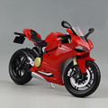 1/12 Scale Motorcycle Model Toys MAISTO Red 1199 Panigale Diecast Racing Motorbike Model   Gifts Collections