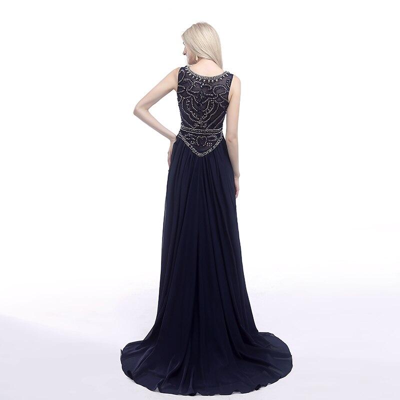Forevergracedress Aktuella bilder Navy Blue Evening Dress En Line - Särskilda tillfällen klänningar - Foto 2