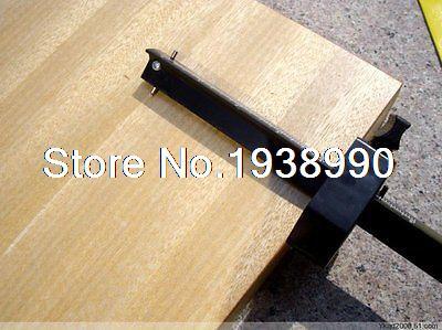 New 1PC Carpenter DIY Tool Parallel Scriber Plastic Black