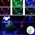 Аквариумный аквариум  светодиодное освещение  подводный прожектор  морская Ночная лампа для вечеринки  красочное освещение  энергосберега...