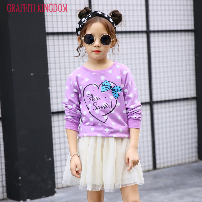 2 Pcs girls t shirt + skirt Spring and Autumn baby girls fashion boutique Clothes Sets children clothing brand high quality 2016 brand new high quality fashion girls clothing sets bow hoodies flower mini tutu skirt 2pcs autumn spring baby kids clothes